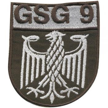 AUFNÄHER - GSG 9 Adler  - 00853 - Gr. ca. 7 x 8,5 cm - Patches Stick Applikation
