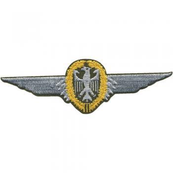 ca Gr 10,5 x 6,5 cm AUFNÄHER Aufbügler Pilot- 00722 Patches Stick A ..