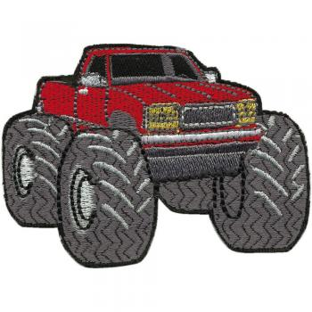 AUFNÄHER - Auto Monstertruck - 01833 - Gr. ca. 8,5 x 6 cm - Patches Stick Applikation