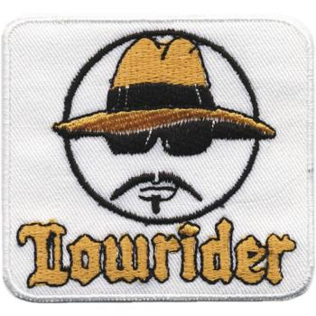AUFNÄHER - Lowrider Face - 04082 - Gr. ca. 6 x 5 cm - Patches Stick Applikation
