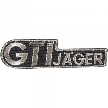 AUFNÄHER - GTI Jäger - 04113 - Gr. ca. 10 x 3 cm - Patches Stick Applikation