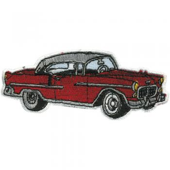 AUFNÄHER - Oldtimer Car - 04120 - Gr. ca. 10,5 x 4 cm - Patches Stick Applikation