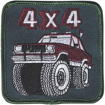 AUFNÄHER - MonsterTruck Car - 04131 - Gr. ca. 8 x 8 cm - Patches Stick Applikation