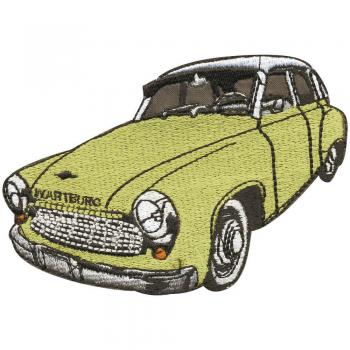 AUFNÄHER - Oldtimer Car - 04825 - Gr. ca. 8 x 11 cm - Patches Stick Applikation