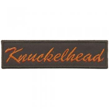 AUFNÄHER - Knuckelhead - 01936 - Gr. ca. 9 x 2cm - Patches Stick Applikation