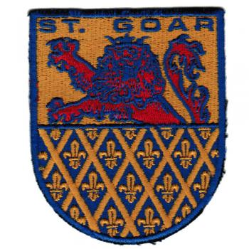 AUFNÄHER - Wappen - St. Goar - 02918- Gr. ca. 9 x 6,5 cm - Patches Stick Applikation