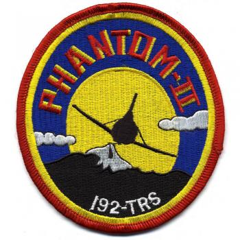 Aufnäher - Military Phantom II - 00678 - Gr. ca. 9,5 x 10 cm - Patches Stick Applikation