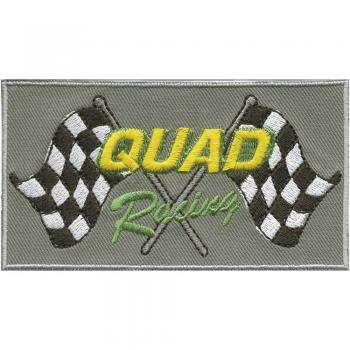 Aufnäher - Quad - 88573 - Gr. ca. 8 x 11 cm - Patches Stick Applikation