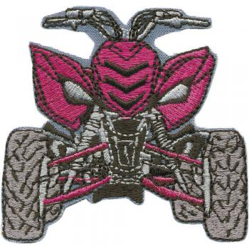 Aufnäher - QUAD - 88646 - Gr. ca. 9,5 x 7 cm - Patches Stick Applikation