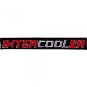 Aufnäher - INTERCOOLER - 00648 - Gr. ca. 15 x 2 cm - Patches Stick Applikation