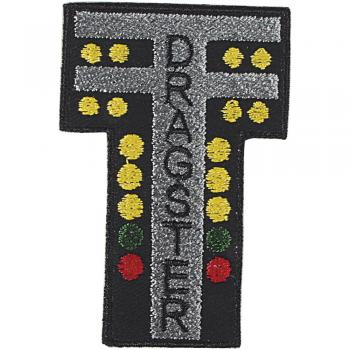 AUFNÄHER - Dragster - 03030 - Gr. ca. 7 x 4 cm - Patches Stick Applikation