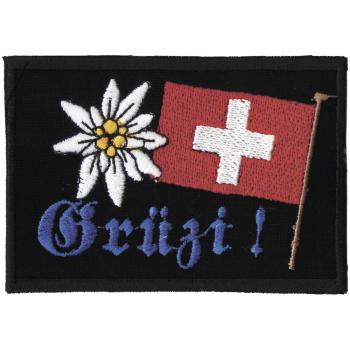AUFNÄHER - Schweiz - 03274 - Gr. ca. 8.5 x 6 cm - Patches Stick Applikation
