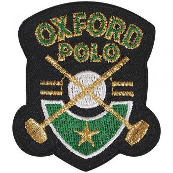 Aufnäher - Oxford Polo - 04535 - Gr. ca. 5,5 x 6,5 cm - Patches Stick Applikation