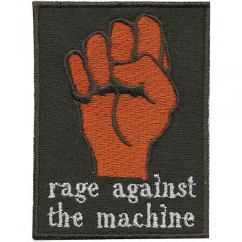 Aufnäher Applikation Spruch - Rage against the Machine - 02038 - Gr. ca. 9cm x 6cm