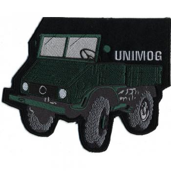 Rückenaufnäher - Unimog - 07462 - Gr. ca. 21 x 17 cm - Patches Stick Applikation