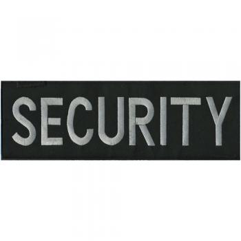 RÜCKENAUFNÄHER - Security - 08513 - Gr. ca. 30 x 9,5 cm - Patches Stick Applikation