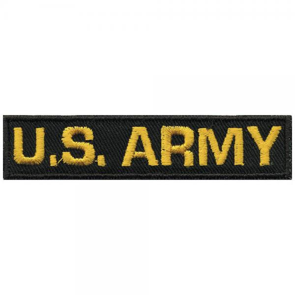 AUFNÄHER - U.S. ARMY - 03090 - Gr. ca. 9 x 2 cm - Patches Stick Applikation