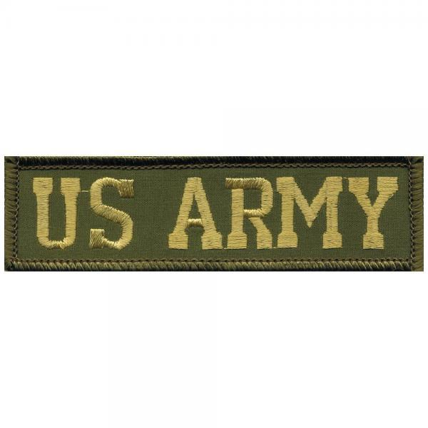 AUFNÄHER - US ARMY - 04627 - Gr. ca. 10,5 x 3 cm - Patches Stick Applikation