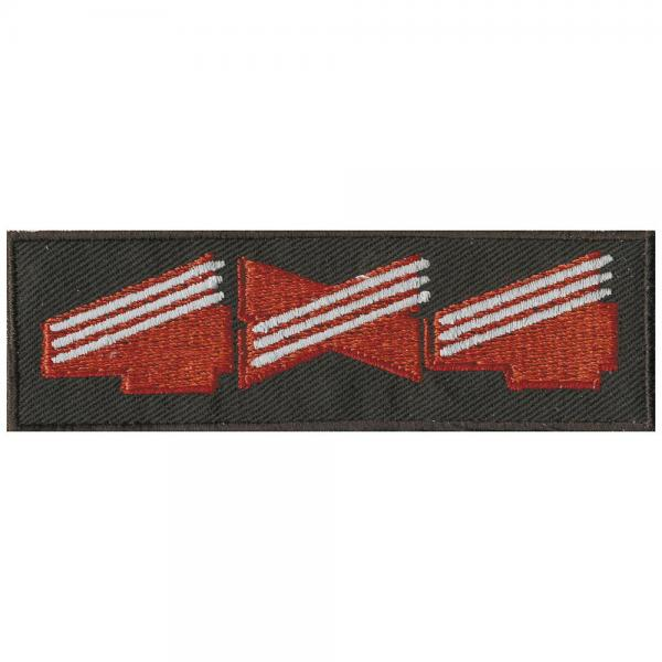 Aufnäher - R1 - 03033 - Gr. ca. 10 x 3 cm - Patches Stick Applikation