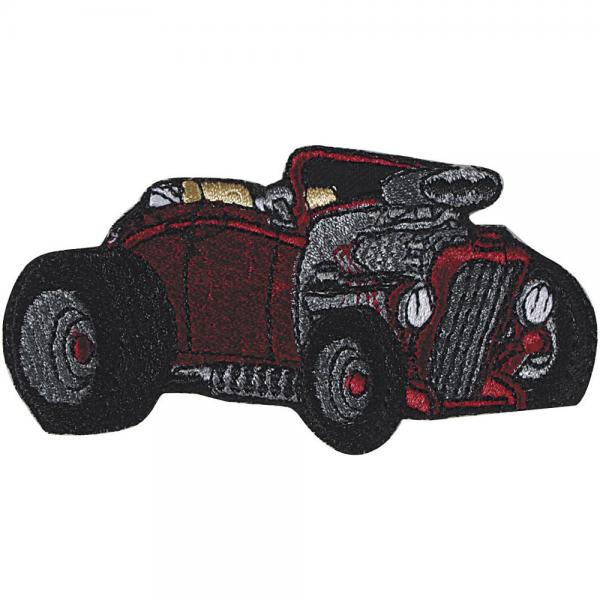 AUFNÄHER - Oldtimer Car - 03120 - Gr. ca. 9 x 5 cm - Patches Stick Applikation