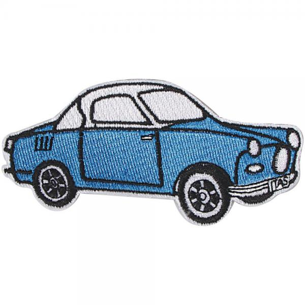 AUFNÄHER - Oldtimer Car - 04433 - Gr. ca. 10 x 8 cm - Patches Stick Applikation
