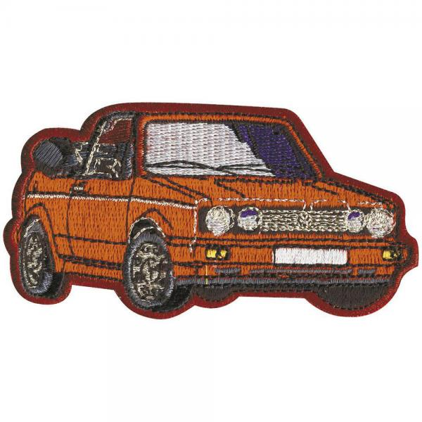 AUFNÄHER - Oldtimer Car - 04919 - Gr. ca. 8,5 x 5 cm - Patches Stick Applikation
