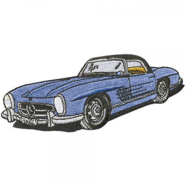 AUFNÄHER - Oldtimer Car - 04956 - Gr. ca. 11 x 5 cm - Patches Stick Applikation