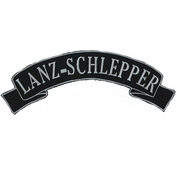 Rückenaufnäher - Lanz-Schlepper - 07339/2 - Gr. ca. 28 x 7 cm - Patches Stick Applikation