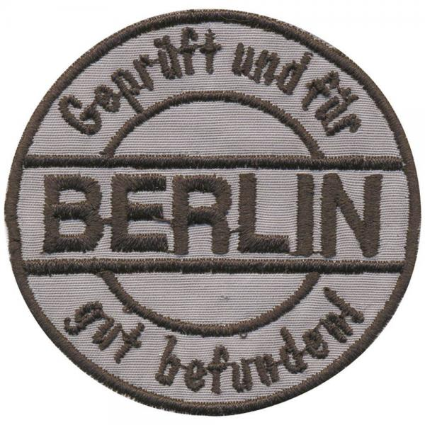 AUFNÄHER - Berlin - 03135 - Gr. ca .6cm - Patches Stick Applikation
