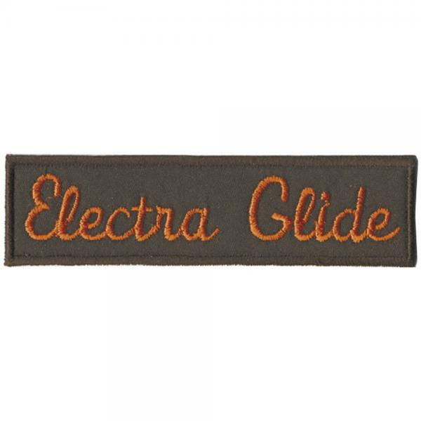 AUFNÄHER - Electra Glide - 01924 - Gr. ca. 9 x 2cm - Patches Stick Applikation