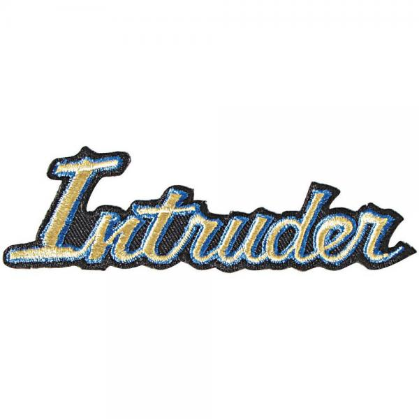 AUFNÄHER - Intruder - 04351 - Gr. ca. 11 x 3 cm - Patches Stick Applikation