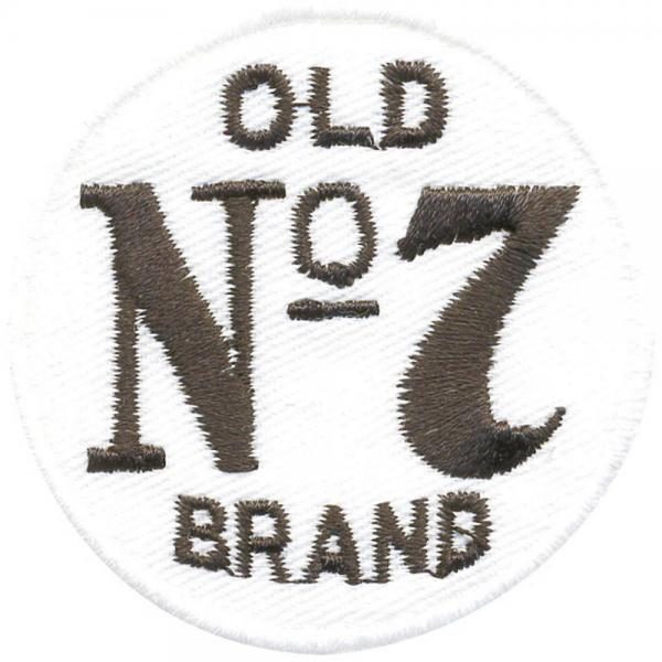 Aufnäher - Old Brand - 01800 - Gr. ca.  5 cm - Patches Stick Applikation