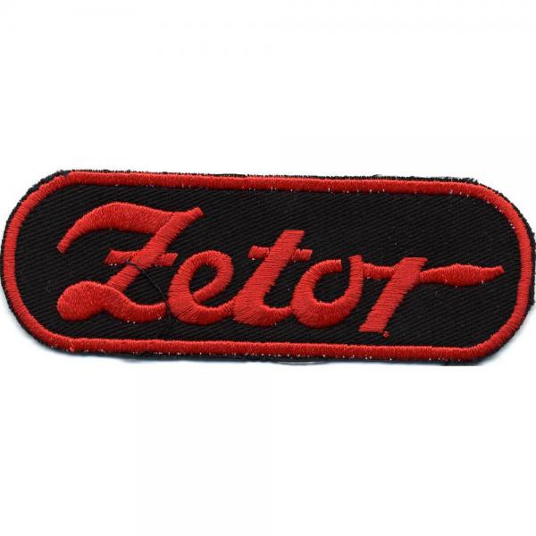 AUFNÄHER - Zetor - 01748 - Gr. ca. 9 x 2 cm - Patches Stick Applikation