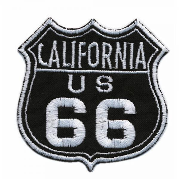 AUFNÄHER - USA - 04039 - Gr. ca. 7 x 6,5 cm - Patches Stick Applikation