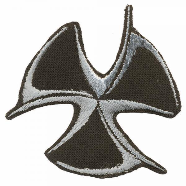 Aufnäher - Wikinger Symbol  - 03087 - Gr. ca. 6cm x 6cm - Patches Stick Applikation