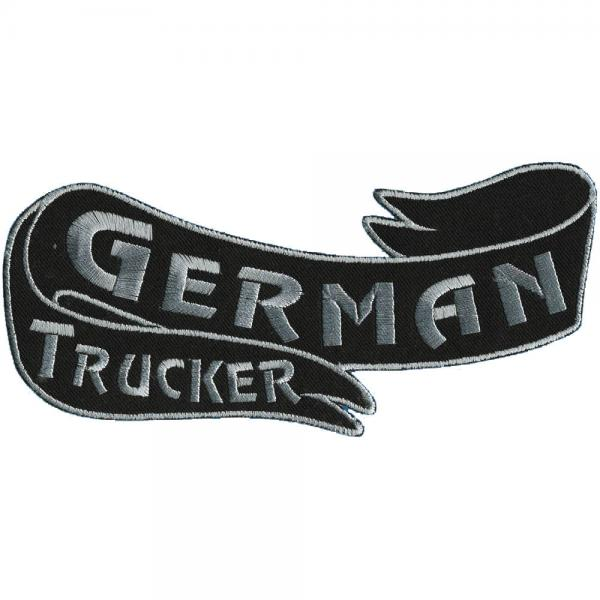 Rückenaufnäher - German Trucker - 08520 - Gr. ca. 25 x 11 cm - Patches Stick Applikation